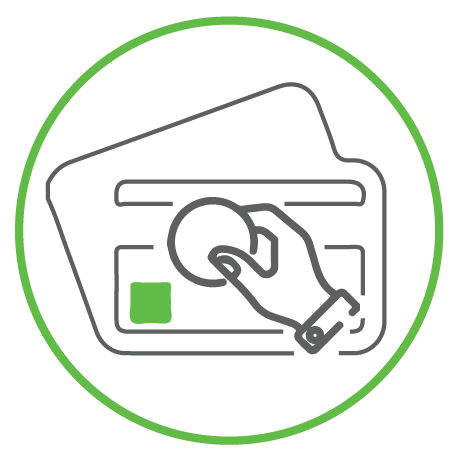 refinace credit card icon